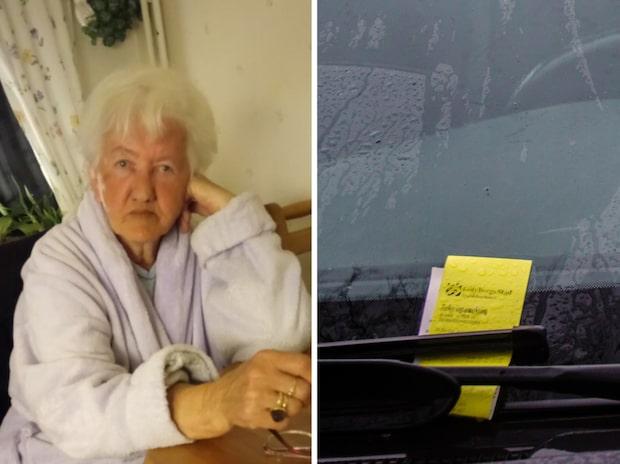 Maria sålde bilen – sen började p-böterna komma
