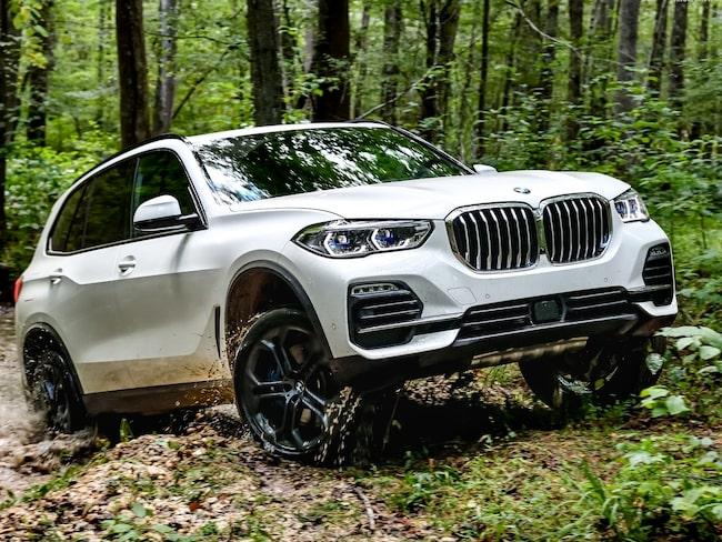 BMW X5 är en riktig bergsget – om du skaffar offroadpaketet.