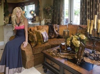 Hollywoodfrun inreder sitt lyxiga hem i rustik stil Leva& bo Expressen Leva& bo