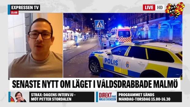 """Federico Moreno: """"Många ser det som en attack mot hela staden"""""""