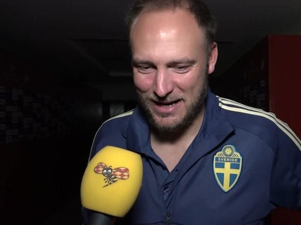 """Granen stor hjälte för Sverige: """"Har aldrig satt en straff med så mycket burop"""""""