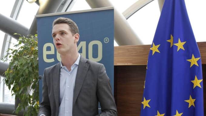 Enligt EU-parlamentarikern Christofer Fjellner (M) anmäls Sverige till EU-domstolen för att EU-kommisionen anser att Sverige har spelmonopolet av fel skäl. Foto: Kristofer Sandberg
