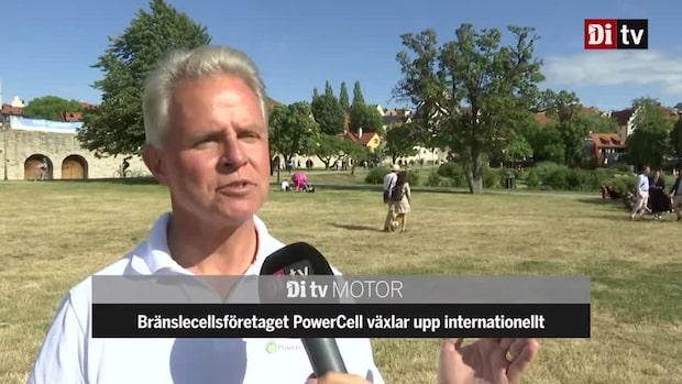 Bränslecellsföretaget PowerCell växlar upp internationellt