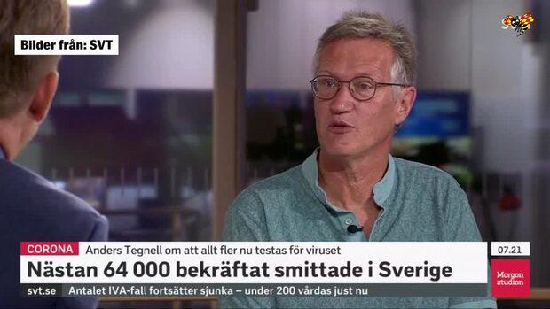 "Anders Tegnell om WHO-kritiken: ""Total feltolkning"""