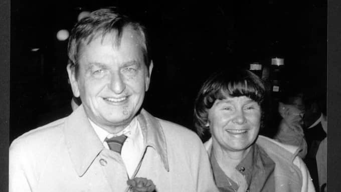 Olof och Lisbet Palme 1985. Foto: Sven-Erik Sjöberg