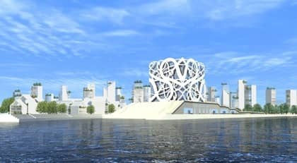 VARFÖR SÅ RÄDDA? Idén om ett nytt city med skyskrapor mitt i älven är ännu bara en skiss. Ändå har ingen av Göteborgs toppolitiker vågat kommentera. Vi behöver mera vågad debatt.