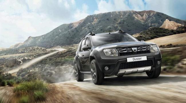 HAR SKÄRPT SIG. Dacia Duster har snyggats till på både in- och utsida, men viktigast av allt är att säkerheten har höjts från en tidigare oacceptabelt låg nivå.