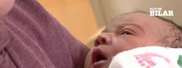 Hon födde sin bebis  – mitt på motorvägen