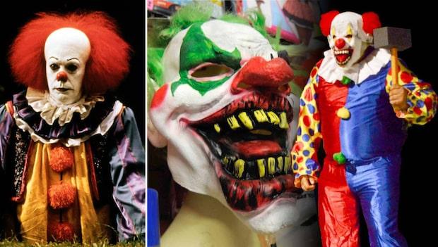 Falsk status på Facebook hetsar upp clownskräcken i Sverige inför Halloween