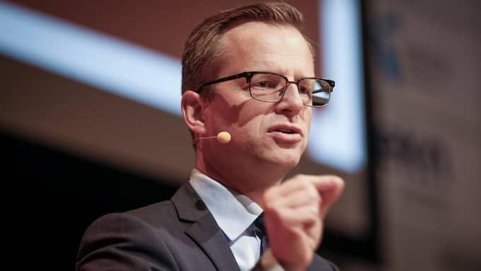 Mikael Damberg (S) är närings- och innovationsminister. Foto: JOHAN JEPPSSON