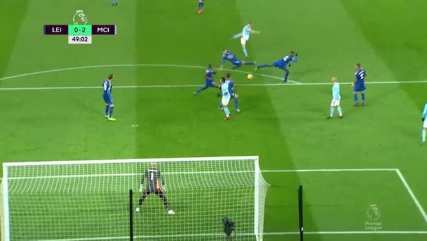 Bästa fullträffarna från Manchester City 2017/18