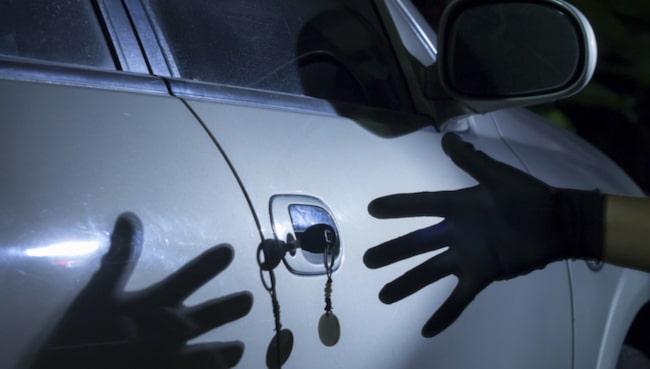 7 av 10 bilar blir stulna för att tjuven kommit över bilnycklarna.