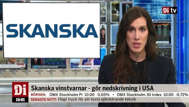 Di Nyheter 10.00 19 okt - Skanska går ut med vinstvarning