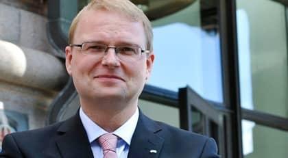 Högskole- och forskningsminister Tobias Krantz (FP). Foto: Bertil Ericson / Scanpix