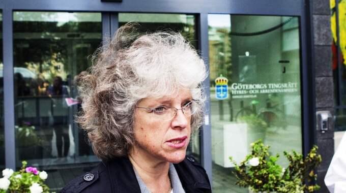 Åklagaren Agnetha Hilding Qvarnström säger att varje människa rimligtvis bör påverkas av de avrättningsfilmer hon spelade upp i rätten. Foto: Anders Ylander