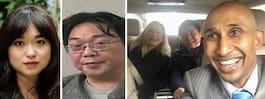 Bilden på affärsmännen – innan kritiserade mötet med Angela Gui