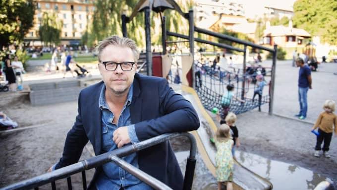 Under loppet av sex år insjuknade Ola Ringdahls mor, dotter och flickvän i cancer. Foto: Alexander Donka