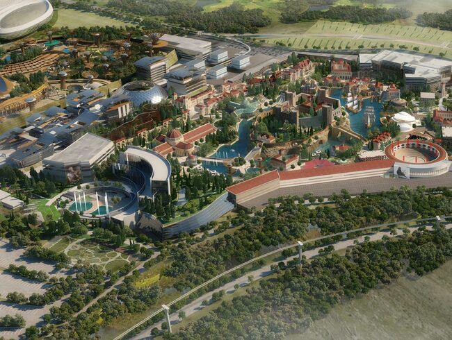 """Staden """"Elysium City"""" ska drivas med hjälp av solenergi."""
