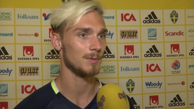 """Linus Wahlqvist hyllar svenska fansen: """"De är helt sjuka"""""""