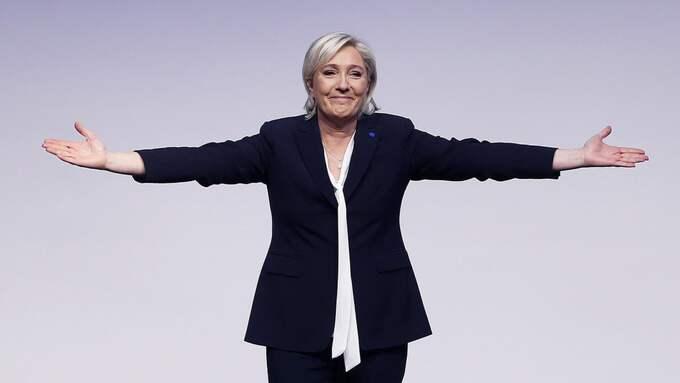 Ingen systerskapare skulle någonsin uppmuntra övriga medlemmar att stödja Marine Le Pen. Foto: Michael Probst / AP/ TT