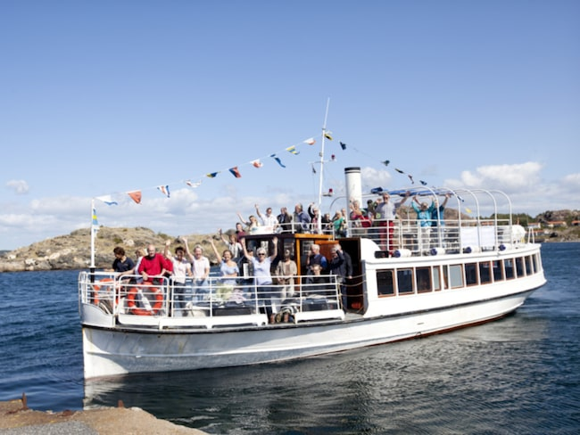 """""""M/S Svea af Bohuslän"""" ska ta besökare till Hönö Klåva och Öckeröarna."""