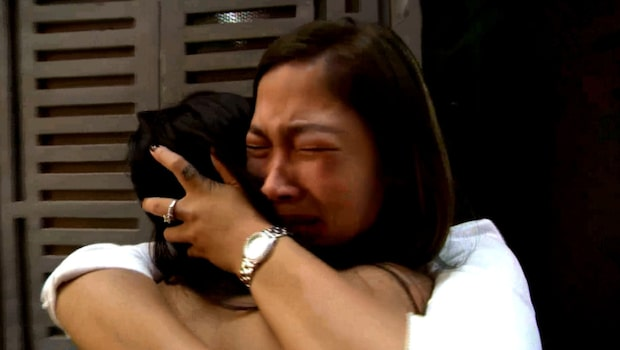 """""""Idol""""-Alice tårar när hon träffar sin tvillingsyster"""