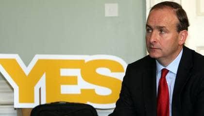 Irlands utrikesminister Micheál Martin. Foto: Declan Masterson