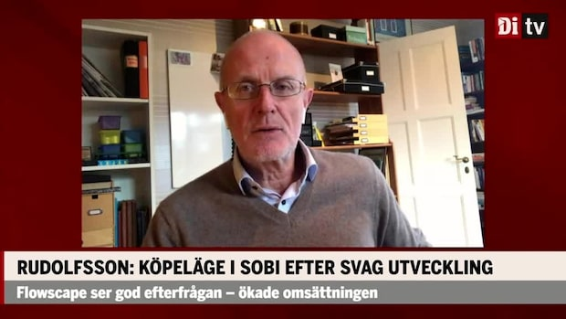 Rudolfssons aktietips: Köpläge i Sobi