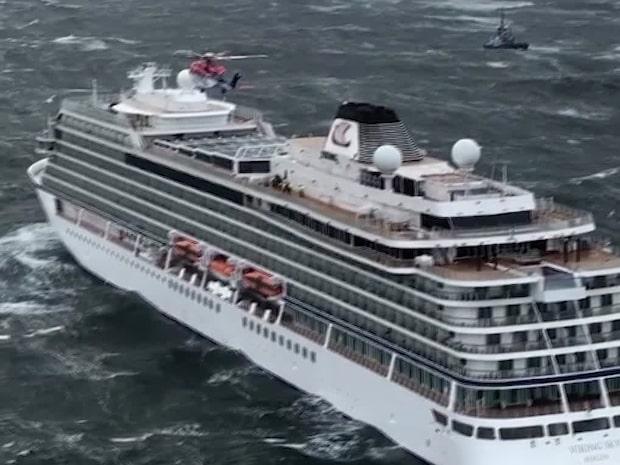 1 300 evakueras från kryssningsfartyg i Norge