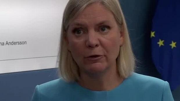 """Magdalena Andersson: """"Ska kunna jobba oss ur krisen"""""""