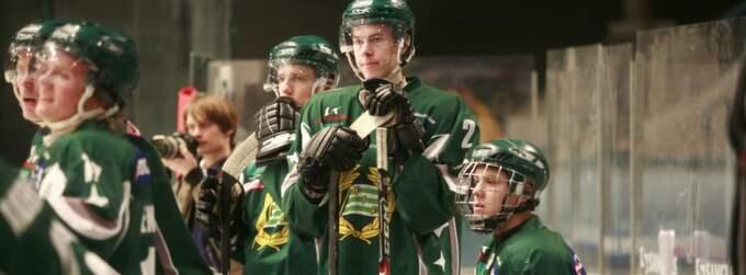 Hammarby hockey under sista matchen på Hovet för fem år sedan. Foto: Gunilla Sikström