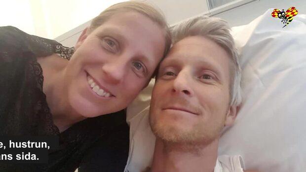 Andreas räddades från döden i Thailand – av frun