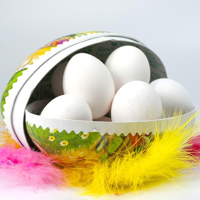 Äggen hör ju påsken till.