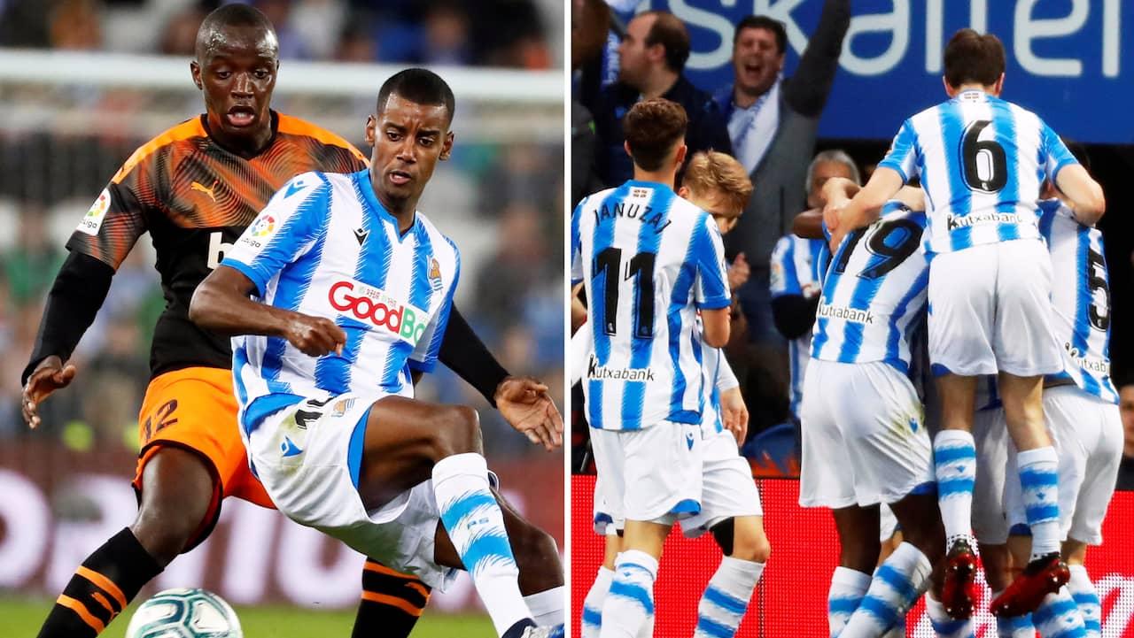 Isak blev mållös när Sociedad segrade