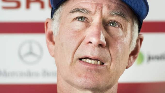 John McEnroe. Foto: Petter Arvidson / Bildbyrån