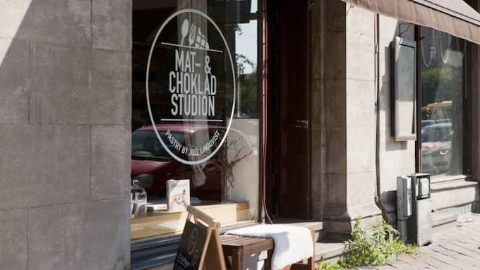 Nio skånska kaféer kommer in som nykomlingar på White Guides lista. Ett av dem är Mat & Chokladstudion i Malmö. Foto: ALLAN BANK