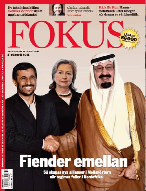 Magnus Falkeheds reportage på Fokus förstasida, april 2011.