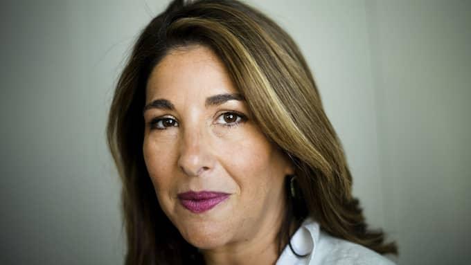Författaren Naomi Klein. Foto: NATHAN DENETTE / PA PHOTOS TT NYHETSBYRÅN