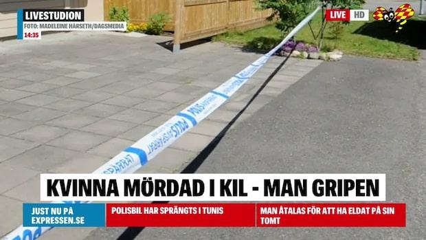 Äldre kvinna misstänkt mördad – Man gripen