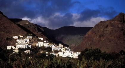 Utan stress. Valle Gran Rey på La Gomera är sedan länge ett etablerat fäste för backpackers och hippieaspiranter.