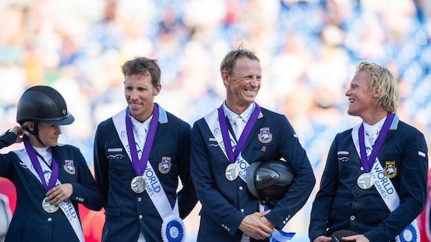 VM–silver till Sverige efter jättedrama