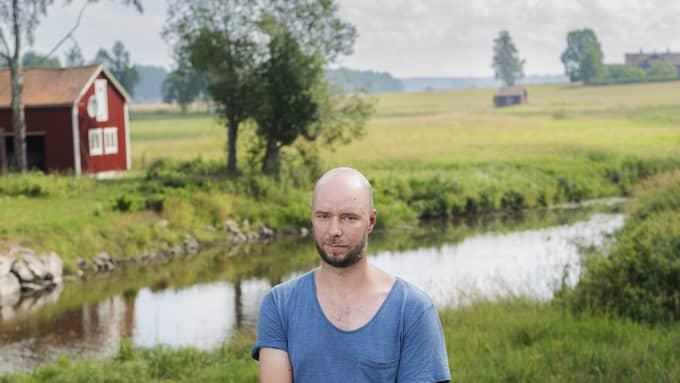 Sven Olov Karlsson på återbesök i Västmanland. Foto: ALEXANDER DONKA