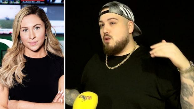 Anis Don Demina avslöjar viktresan för Expressens Ellinor Svensson
