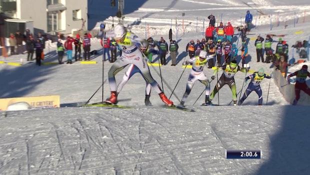 Stina Nilsson krossade alla i finalen