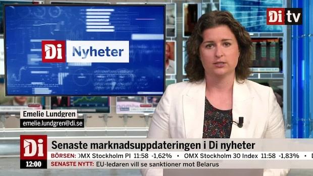 Di Nyheter - Tungt på Stockholmsbörsen under veckans sista handelsdag