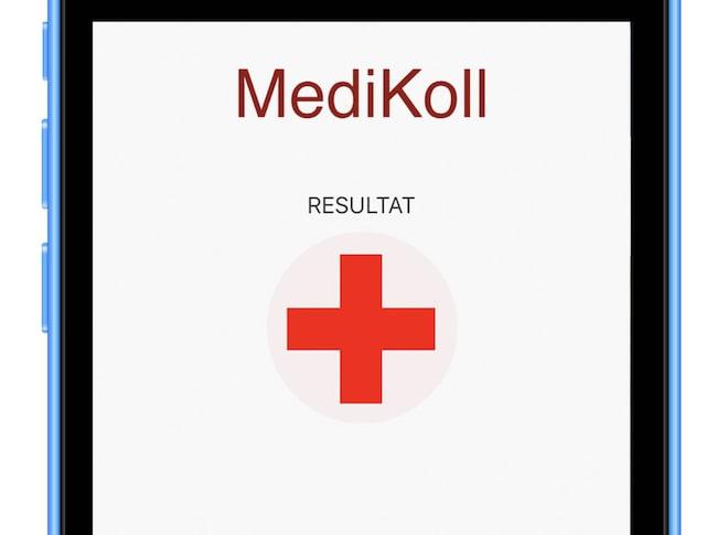 Den kände allmänläkaren Göran Sjönell har varit med och tagit fram appen Medikoll, med vilken man kan kontrollera om ens symtom beror på biverkningar från läkemedel.
