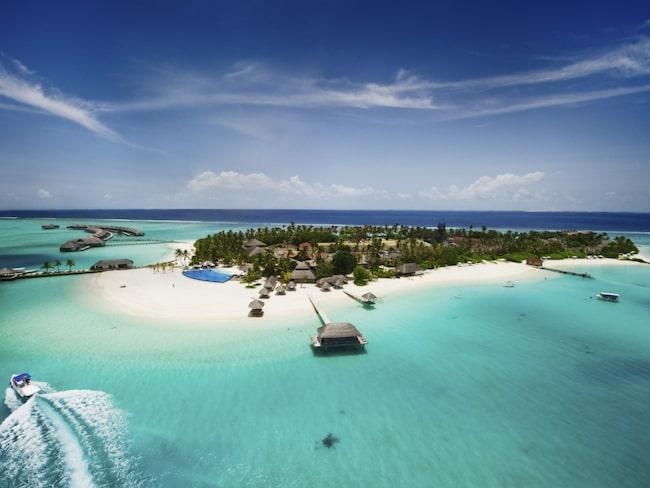 Maldiverna får man se.