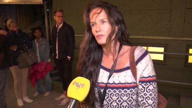 Malin Berghagens sorg – missade Michael Nyqvists begravning