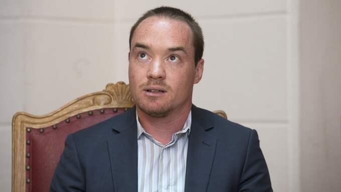 Kent Ekeroth (SD) dömdes för ringa misshandel efter att ha slagit en man i krogkön till Stureplansklubben Solidaritet. Foto: SVEN LINDWALL