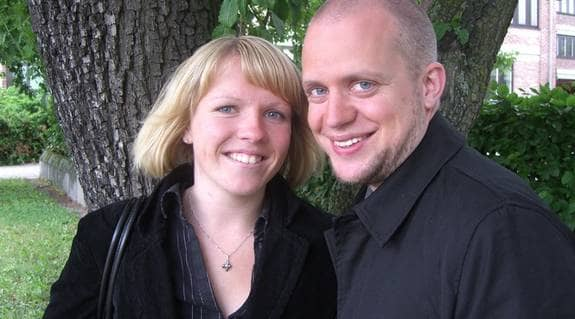 Emma haglund och Christian Bergenwall har fått många nya polare genom Citypolarna. Foto: Monika ó